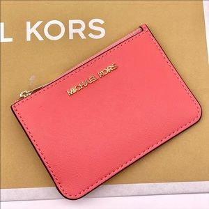 🌸Michael Kors Small Coin Pouch Wallet Card Case